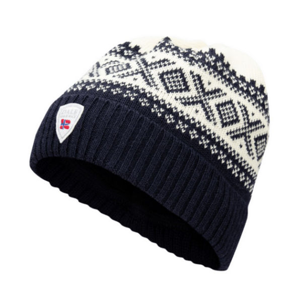 Picture of DALE OF NORWAY HAT CORTINA HERON NAVY OFFWHITE