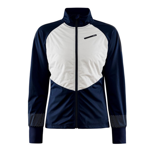 Picture of CRAFT CROSS COUNTRY SKI JACKET STORM BALANCE BLAZE/ASH FOR WOMEN