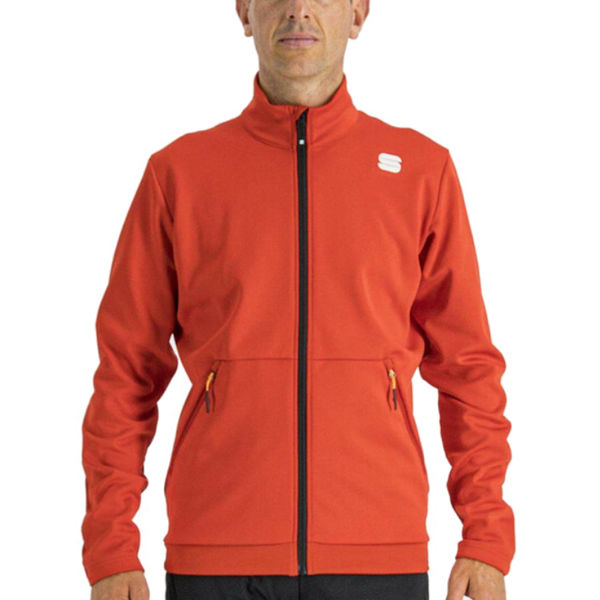 Picture of SPORTFUL CROSS COUNTRY SKI JACKET ENGADIN RED FOR MEN